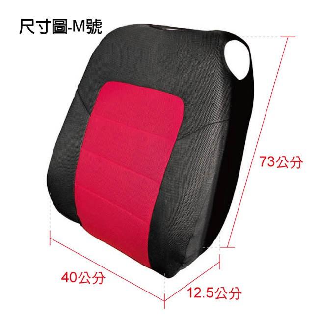 3D 樂活透氣椅套-背套M