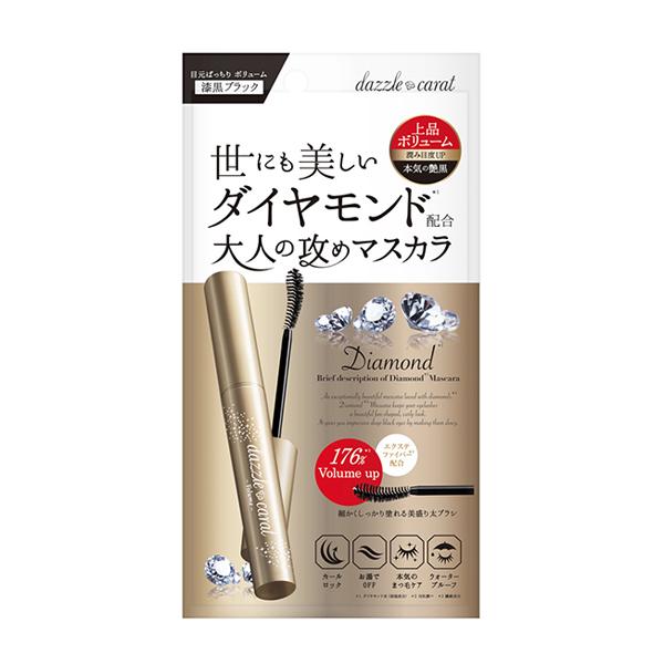 DazzleCarat鑽石濃密睫毛膏-黑色【康是美】