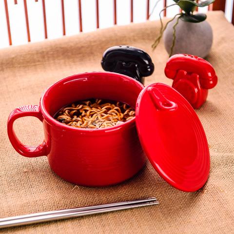 開罐造型湯碗650ml-紅