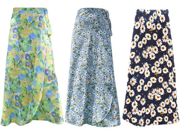 雪紡一片式沙灘裙/遮陽裙(1件入) 款式可選【D080027】防風裙/防曬裙/一片裙