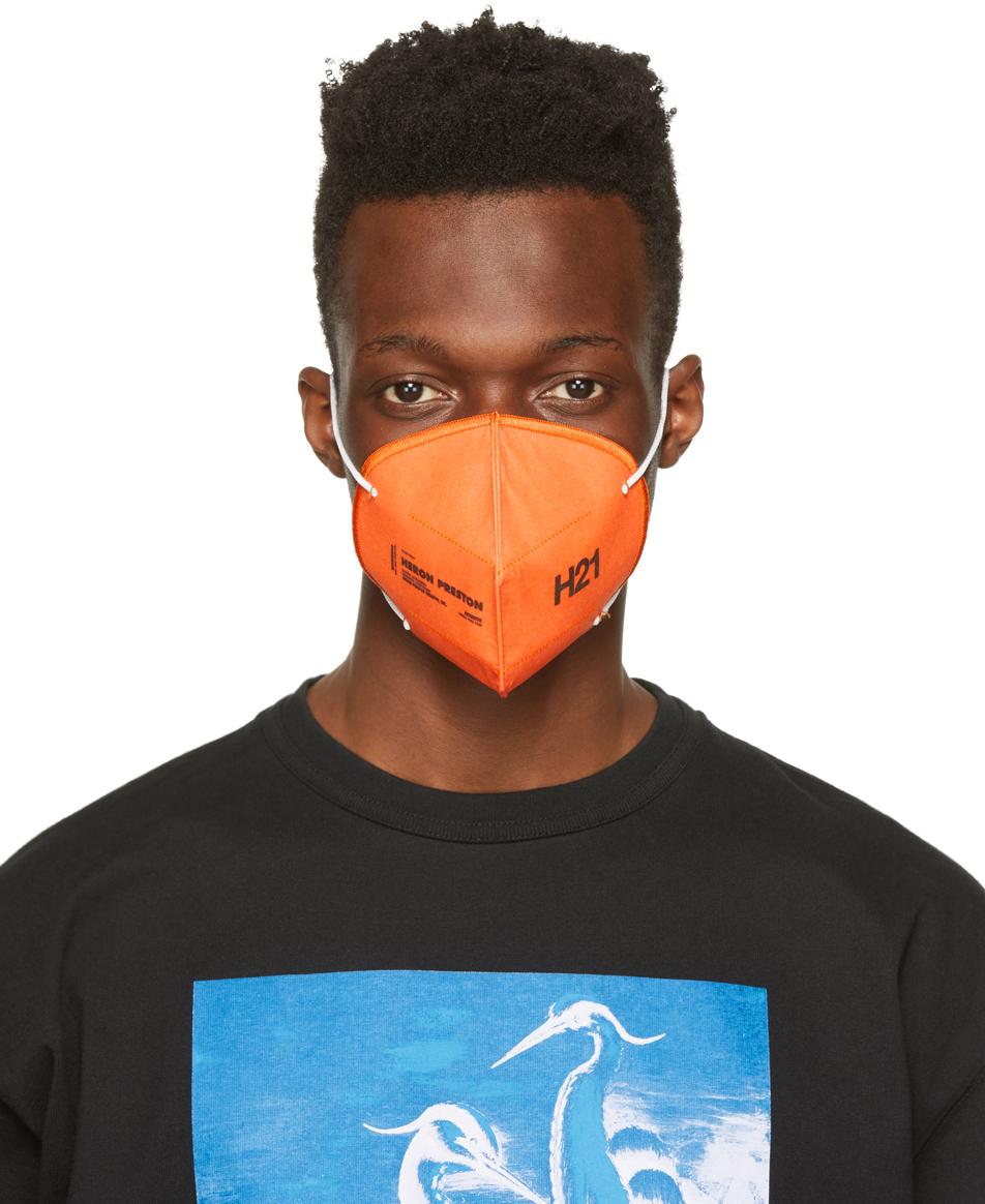 Heron Preston 橙色 Reusable 口罩