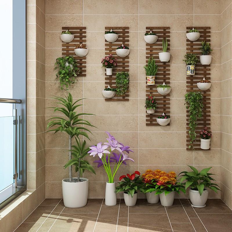 花架 花墻架掛墻上花架陽臺壁掛裝飾墻面植物花架子懸掛式墻壁花盆掛架