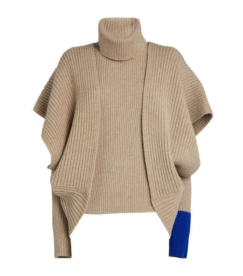 Roksanda Contrast-Cuff Tavi Sweater