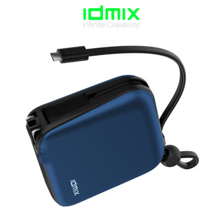idmix MR CHARGER 10000 TYPE-C 旅充式10000 mAh行動電源(CH05C)