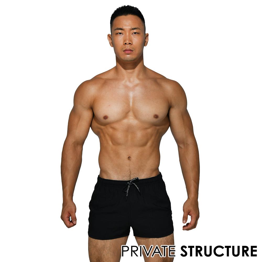★好事成雙★限時2件77折★P.S beFit系列 多功能健身慢跑運動短褲(黑色),PBSMB4059B1,Private Structure,beFiT
