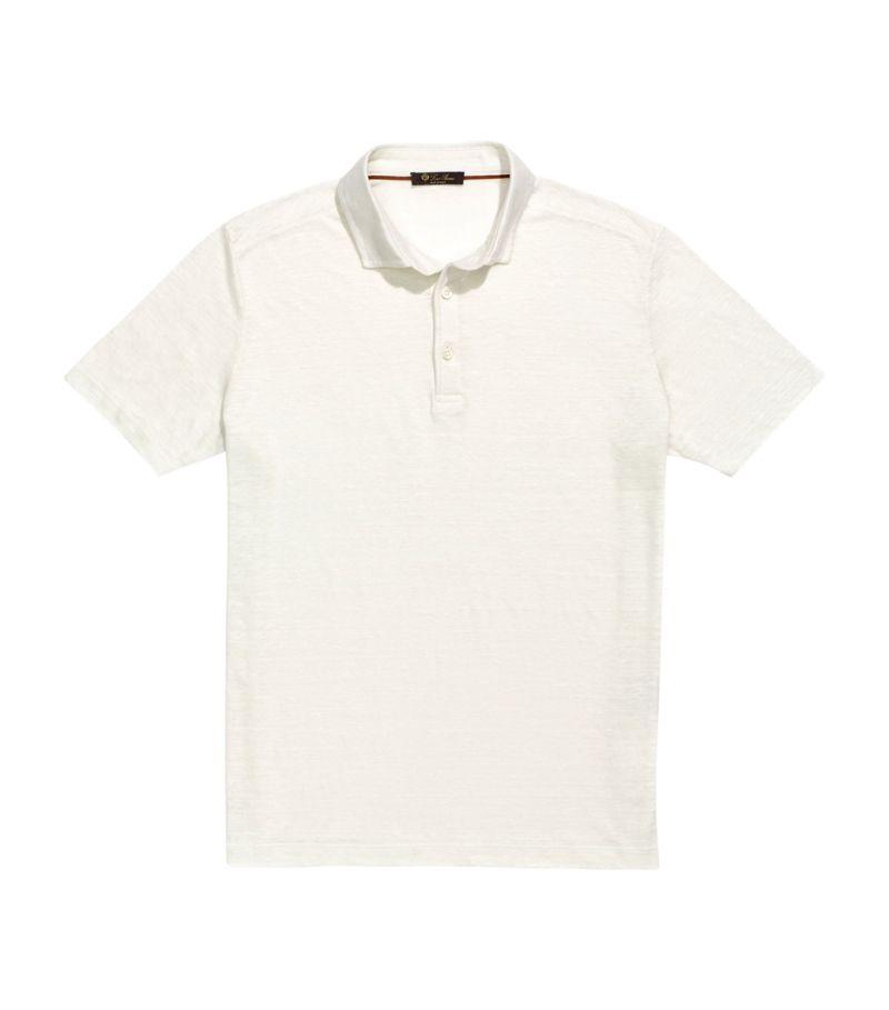 Loro Piana Linen Polo Shirt