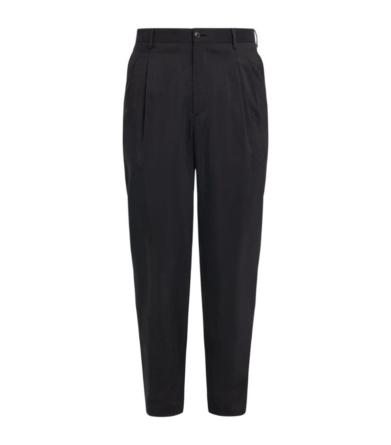 Giorgio Armani Silk-Blend Trousers
