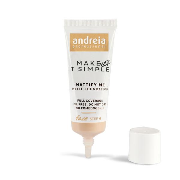 Andreia絲滑綢緞零油光極效粉底液01白皙色 【康是美】