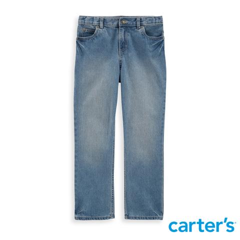 Carter's 台灣總代理 - 淺藍刷色牛仔長褲