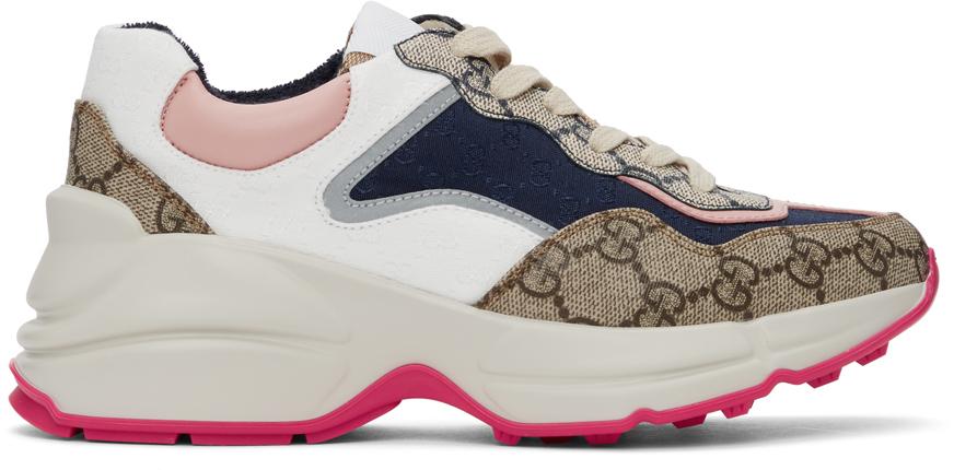 Gucci 多色 GG Rhyton 运动鞋