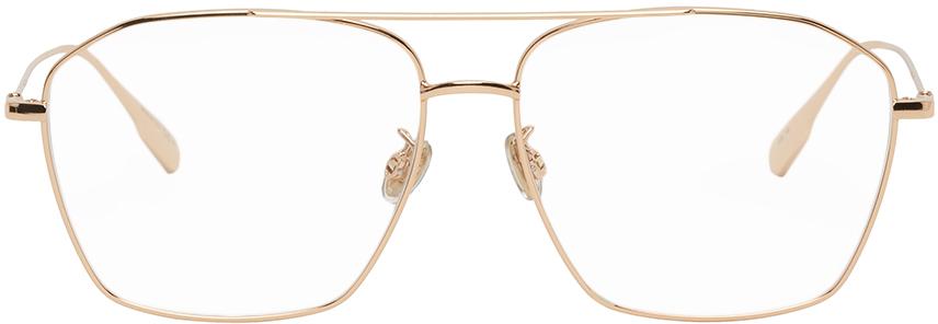 Dior 玫瑰金色 Stellaire014F 飞行员眼镜