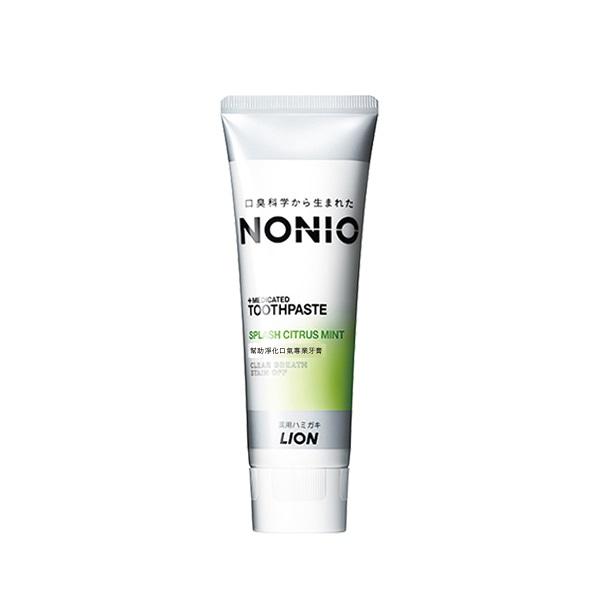 日本獅王NONIO終結口氣牙膏澄橘薄荷130g【康是美】
