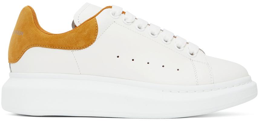 Alexander McQueen 白色阔型运动鞋