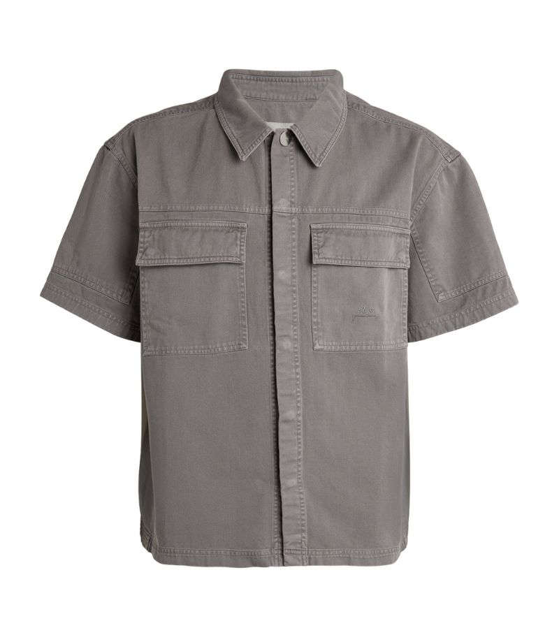 A-Cold-Wall* Cotton Short-Sleeved Overshirt