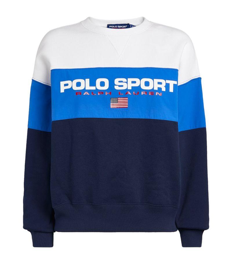 Polo Ralph Lauren Colour-Block Logo Sweatshirt