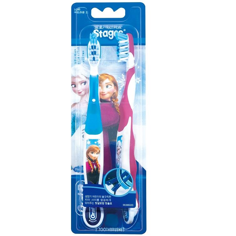 歐樂B兒童迪士尼系列牙刷-Frozen(2入) 【康是美】