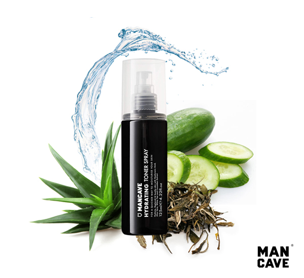 英國Man Cave Hydrating Toner Spray玻尿酸保濕爽膚水(125ml)