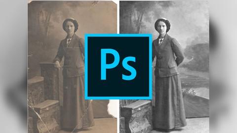 Restaurar Fotografas Antiguas Con Photoshop (Curso Bsico)