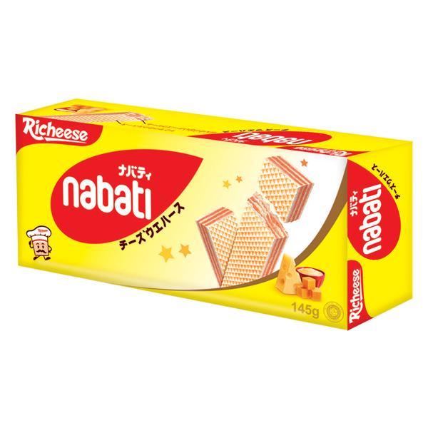 點數15%★食品飲料滿千–Richeese麗芝士 Nabati起司威化餅(145g) 【康是美】