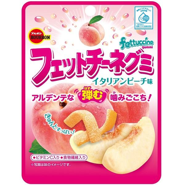 點數15%★食品飲料滿千–北日本寬版水蜜桃果汁軟糖 【康是美】