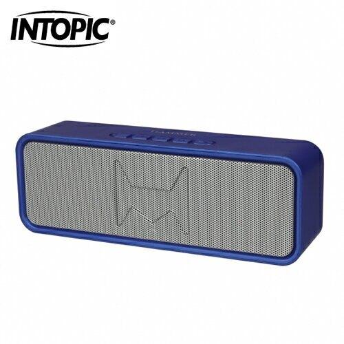 【INTOPIC 廣鼎】多功能藍牙喇叭(SP-HM-BT262)-藍【三井3C】