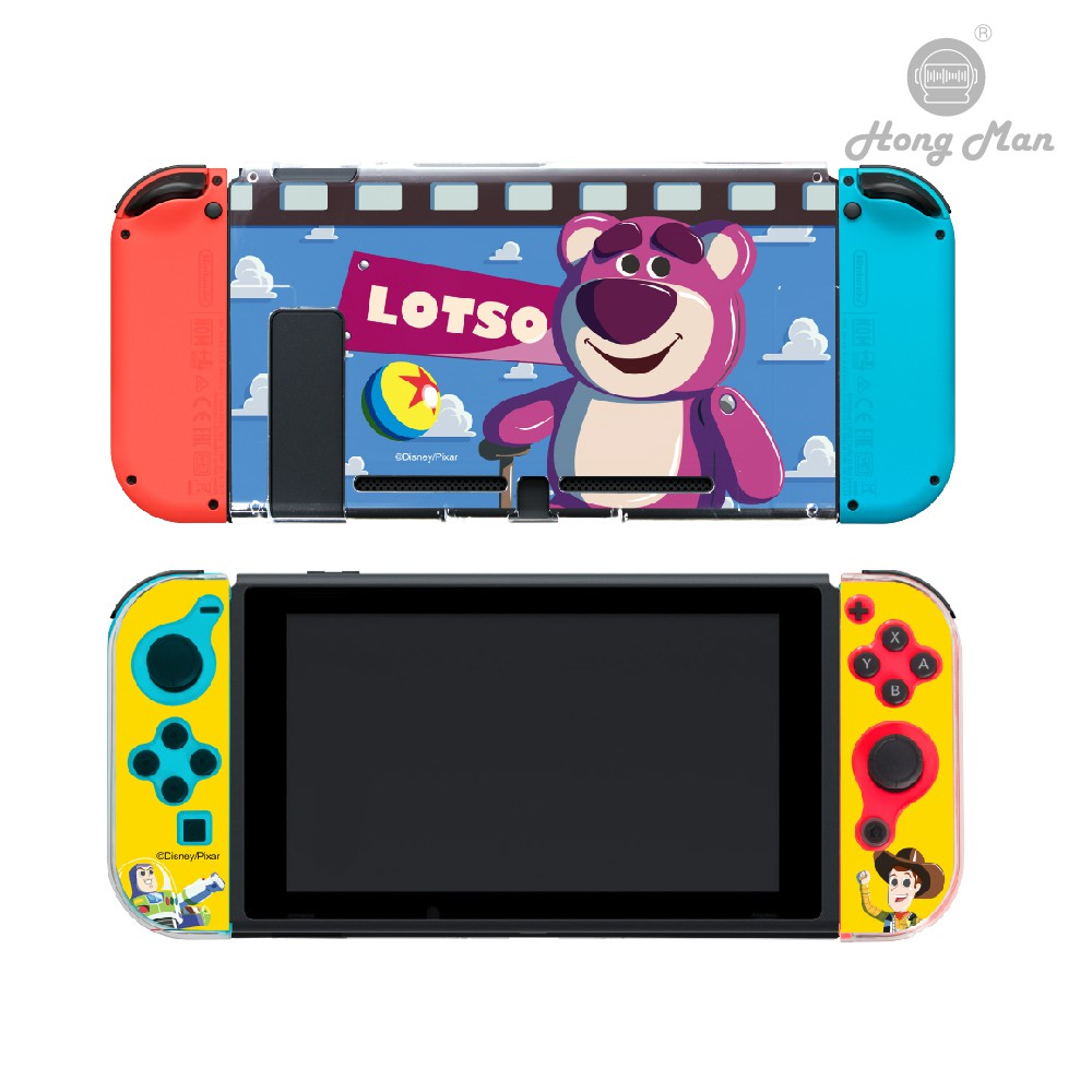 【Hong Man】迪士尼 系列 任天堂 Switch / Switch Lite 保護殼 熊抱哥
