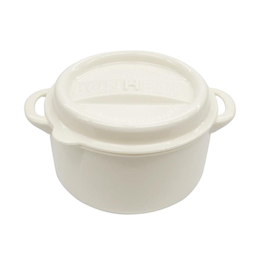 日本製鑄鐵鍋造型保存容器(LL)550ml【康是美】