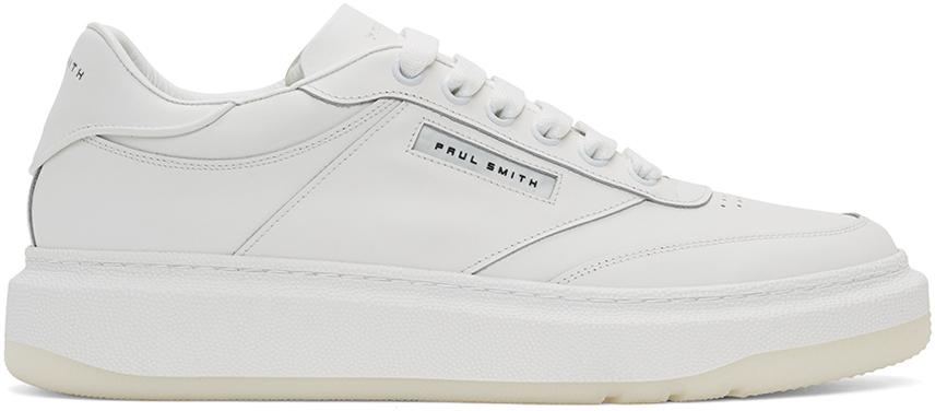 Paul Smith 白色 Hackney 运动鞋