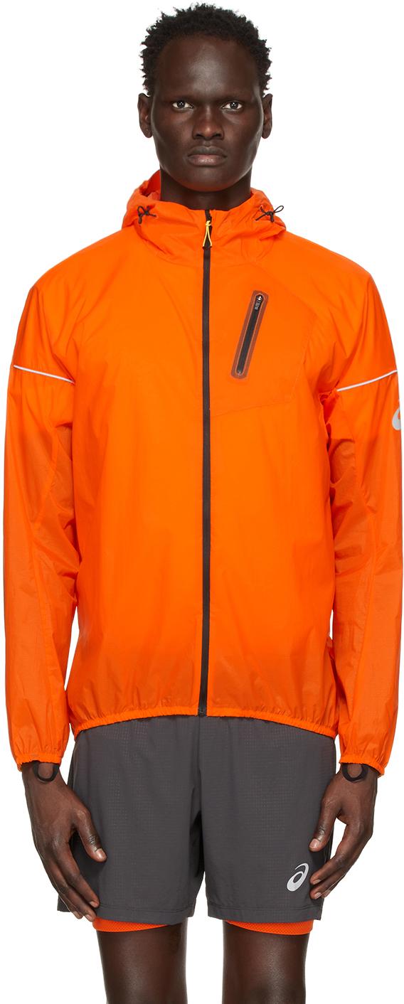 Asics 橙色 Fujitrail 夹克
