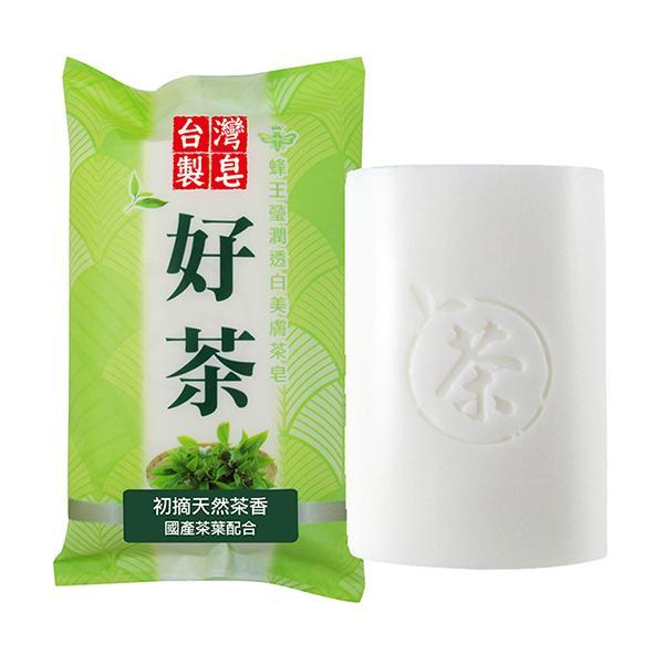 蜂王瑩潤透白美膚茶皂 入【康是美】