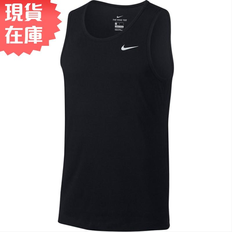 NIKE Dri-FIT 男裝 背心 休閒 訓練 慢跑 健身 透氣 速乾 黑【運動世界】AR6070-010