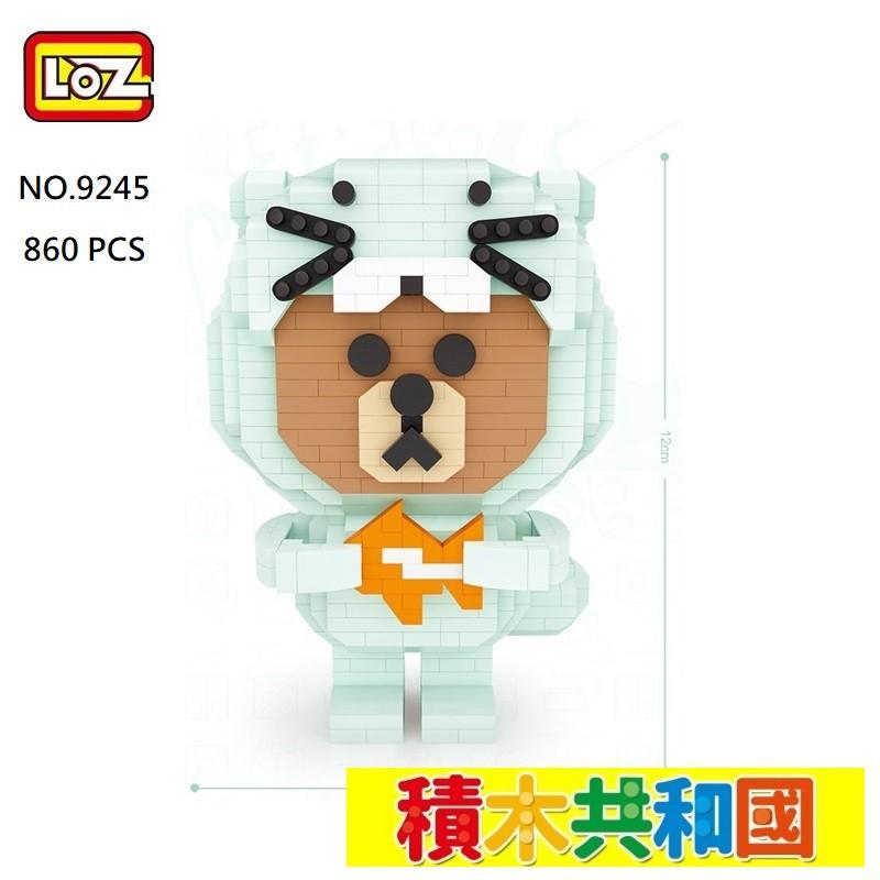 【積木共和國】 LOZ俐智 微型積木公仔180系列 益智積木兼迷你拼裝積木『盒損』