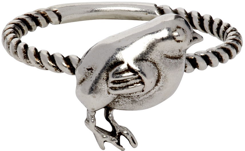 Gucci 银色 Chick 戒指