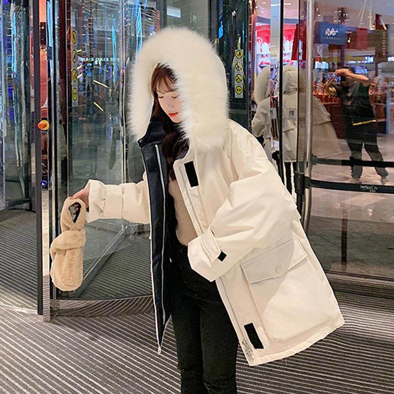 ★秋冬現貨★鋪棉毛領防風外套-eFashion【N16557066】