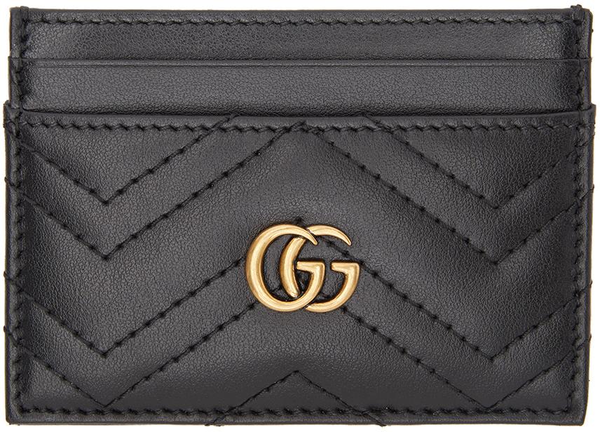 Gucci 黑色 GG Marmont 2.0 卡包