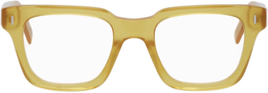 RETROSUPERFUTURE 黄色 Numero 79 眼镜