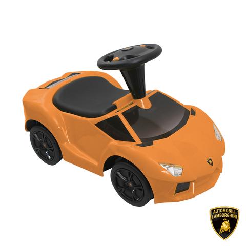 *【Lamborghini藍寶堅尼】兒童滑行車-橘