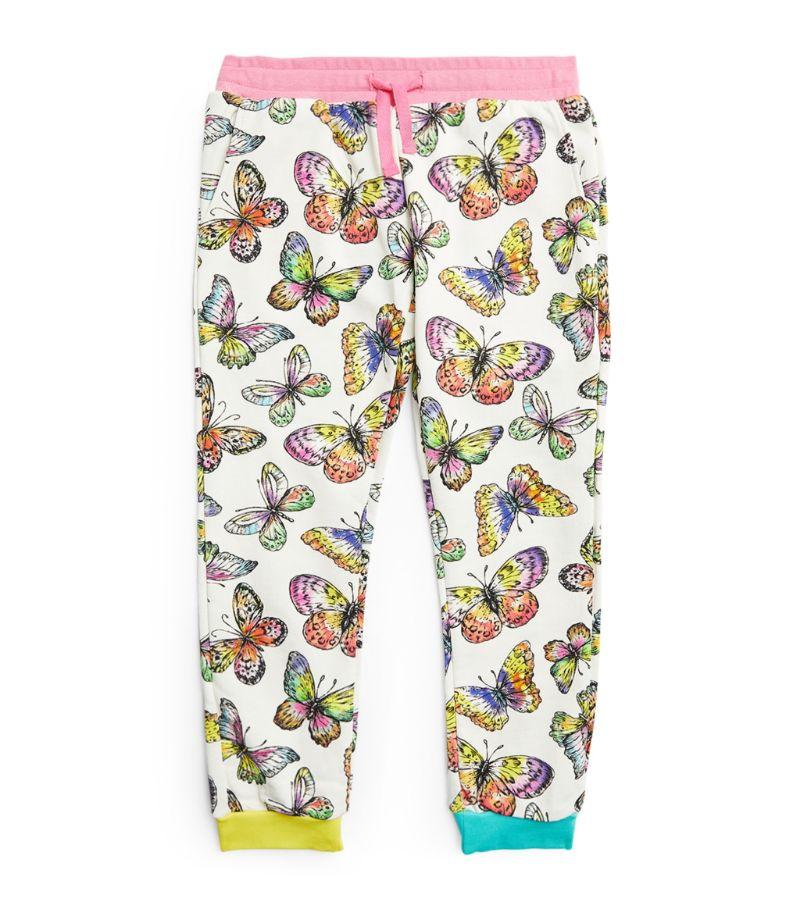 Stella Mccartney Kids Cotton Butterfly Sweatpants (3-14+ Years)