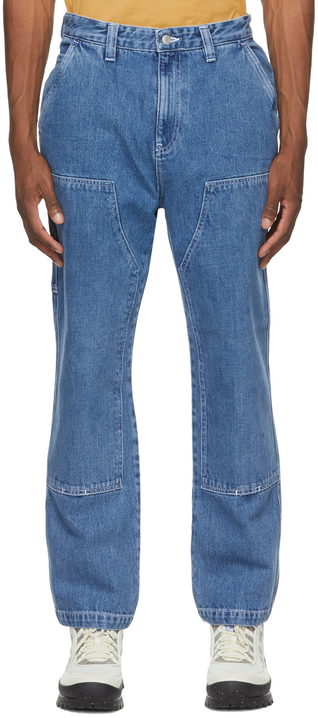 Stüssy 蓝色 Work 牛仔裤