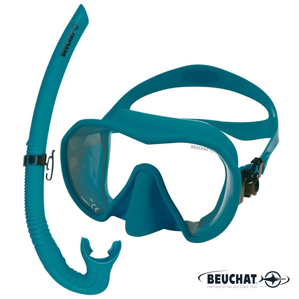 BEUCHAT Maxlux S 面鏡 & SPY 呼吸管