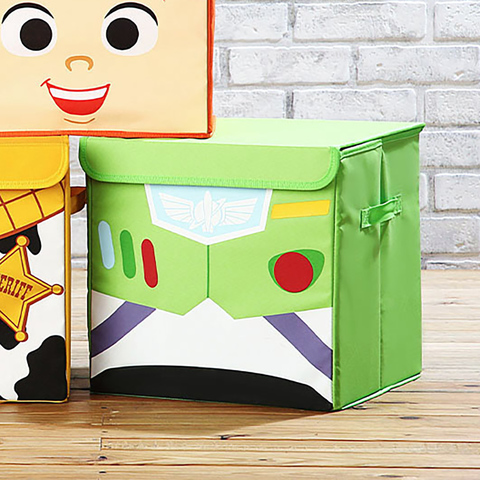 *玩具總動員方形收納箱(巴斯光年)