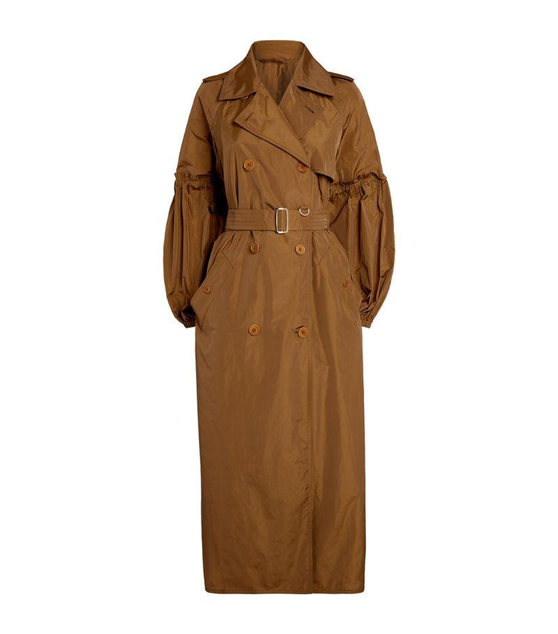 Max Mara Taffeta Trench Coat