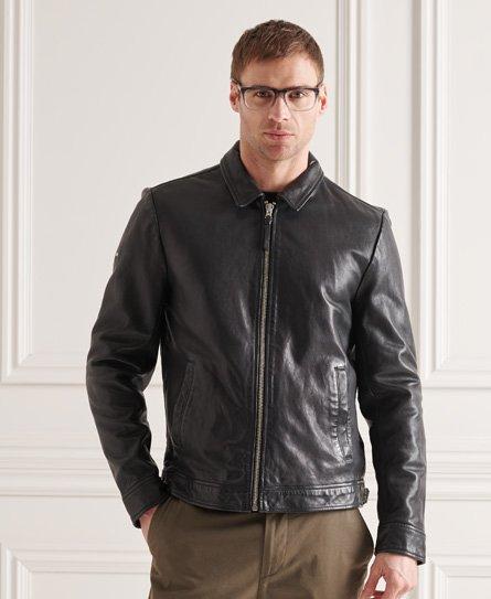 Superdry Indie Coach Leather Jacket