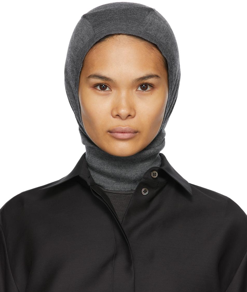 The Row 灰褐色 Badu 巴拉克拉法帽