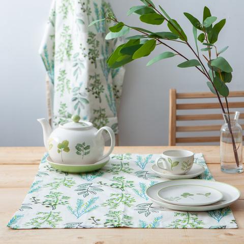綠意森植午茶巾50*70cm