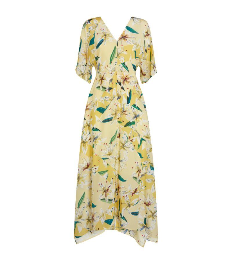 Max & Co Silk Printed Midi Dress