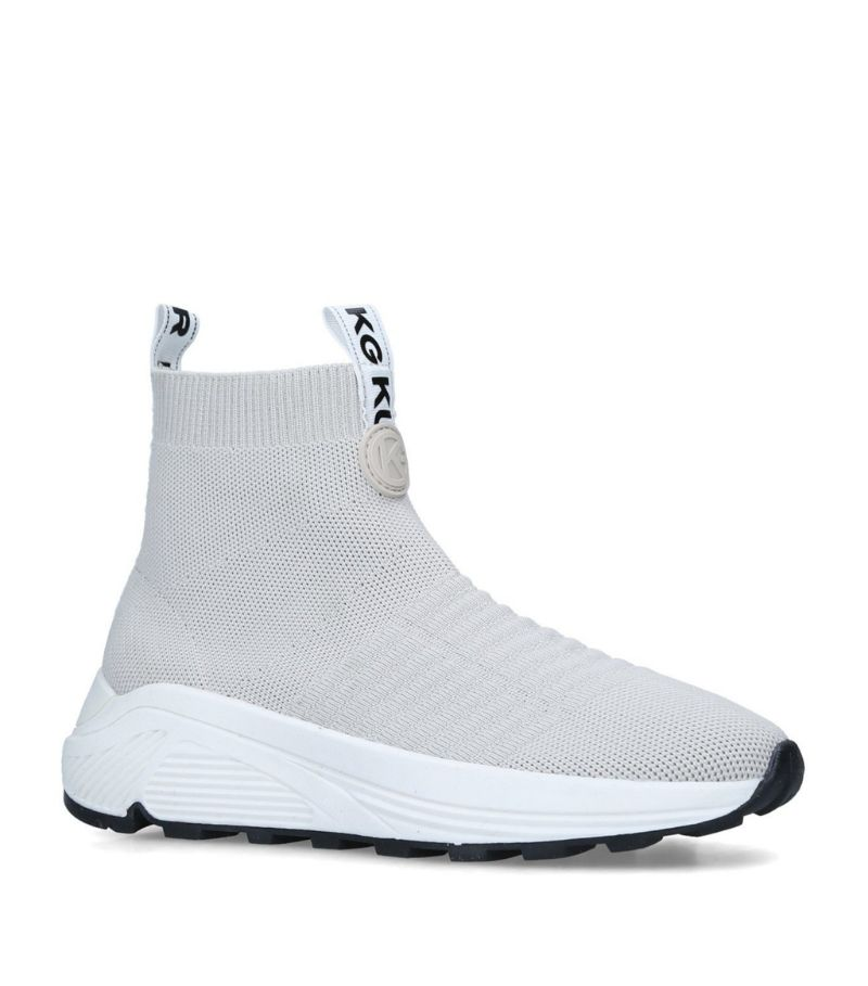 Kg Kurt Geiger Loaded Knit High-Top Sneakers