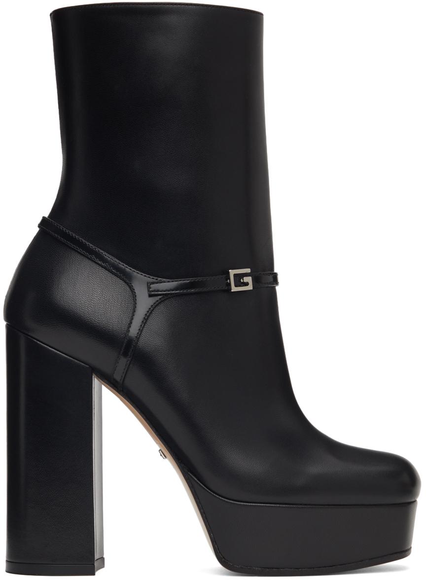 Gucci 黑色 Tiarah 踝靴
