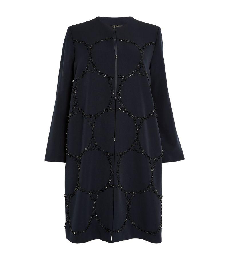 Marina Rinaldi Sequin-Embellished Coat