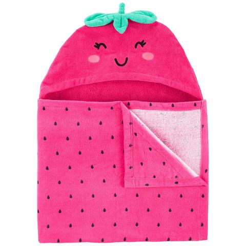 Carter's 台灣總代理 草莓造型沙灘巾(OSZ)